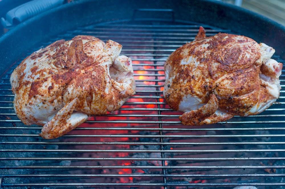 hel bbq-kyckling