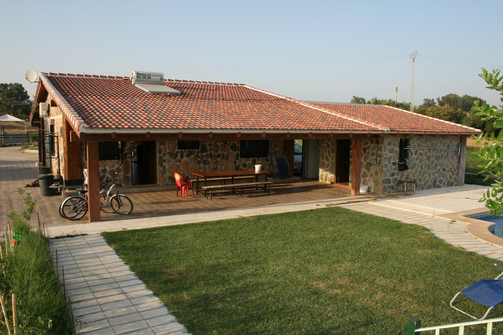 Alquiler rural casa independiente for Porche de jardin