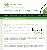 Energy Sense Energy Solutions Magazine