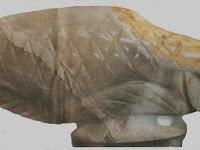 Ikan Arwana dari batu Onyx
