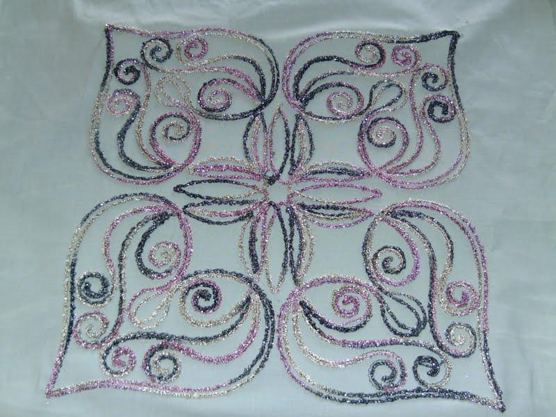 Husqvarna Viking Quilting Designs : Janette, A Licensed Martha Pullen Teacher: Block of the ...