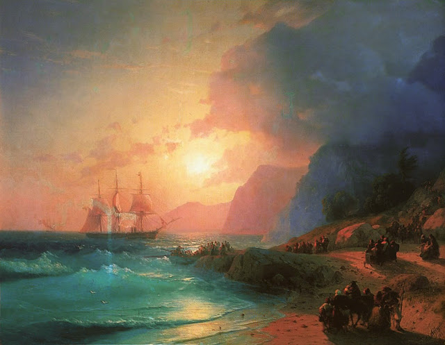 A força e imponência do mar retratadas em obras do século 19 na obra artista russo Ivan Konstantinovich Aivazovsky
