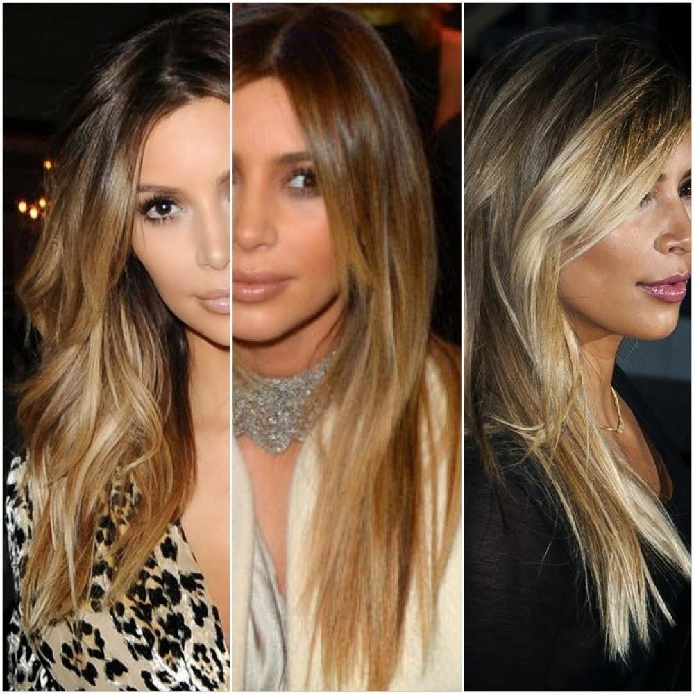 Hair and Makeup by Natalie D.: Kim kardashian's blonde hair!!