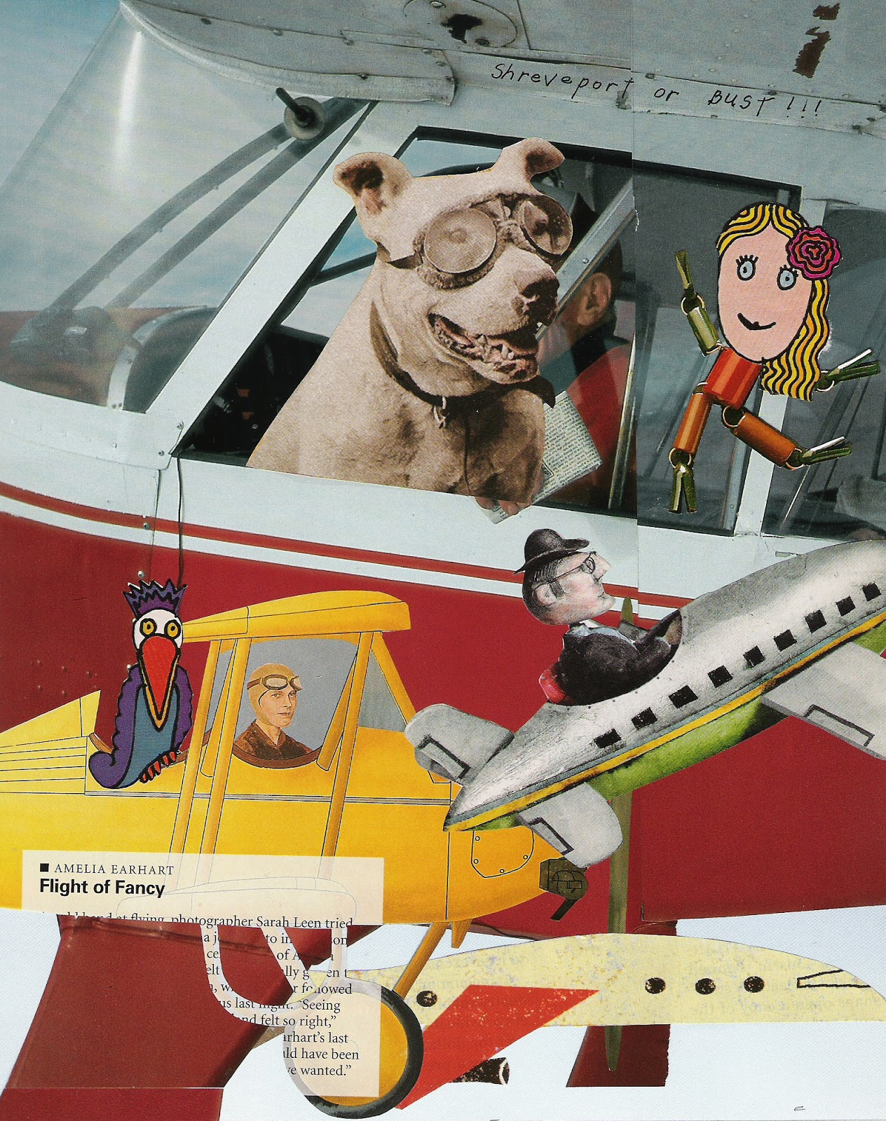 """my first air plane ride Is my first airplane trip"""" """"i see,"""" answered the flight attendant scary at first"""" """"the nice flight attendant took good care of me,"""" said linda."""