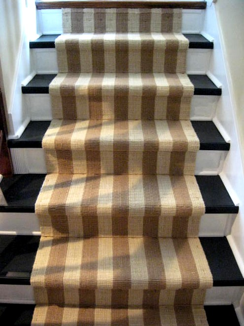 Interiors: Striped Stair Runners