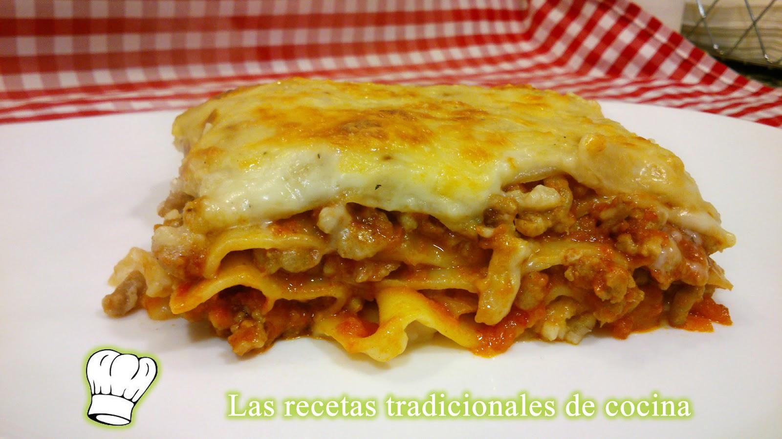receta tapas de lasagna