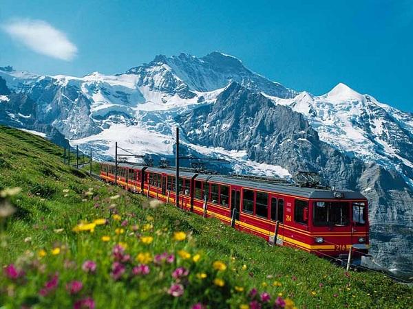 Interlaken e Jungfrau (Suíça)