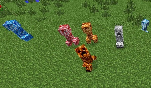 Varied Creepers Mod para Minecraft 1.7.2, Varied Creepers Mod, Varied Creepers 1.7.2, minecraft Varied Creepers 1.7.2, minecraft Varied Creepers Mod, mids minecraft, minecraft mods, minecraft mods 1.7.2, descargar mods para minecraft 1.7.2, minecraft cómo instalar mods, cómo instalar mods minecraft, cómo instalar mods