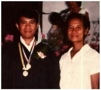 The day I Graduated from BEED with my eldest sister, Inday Sita