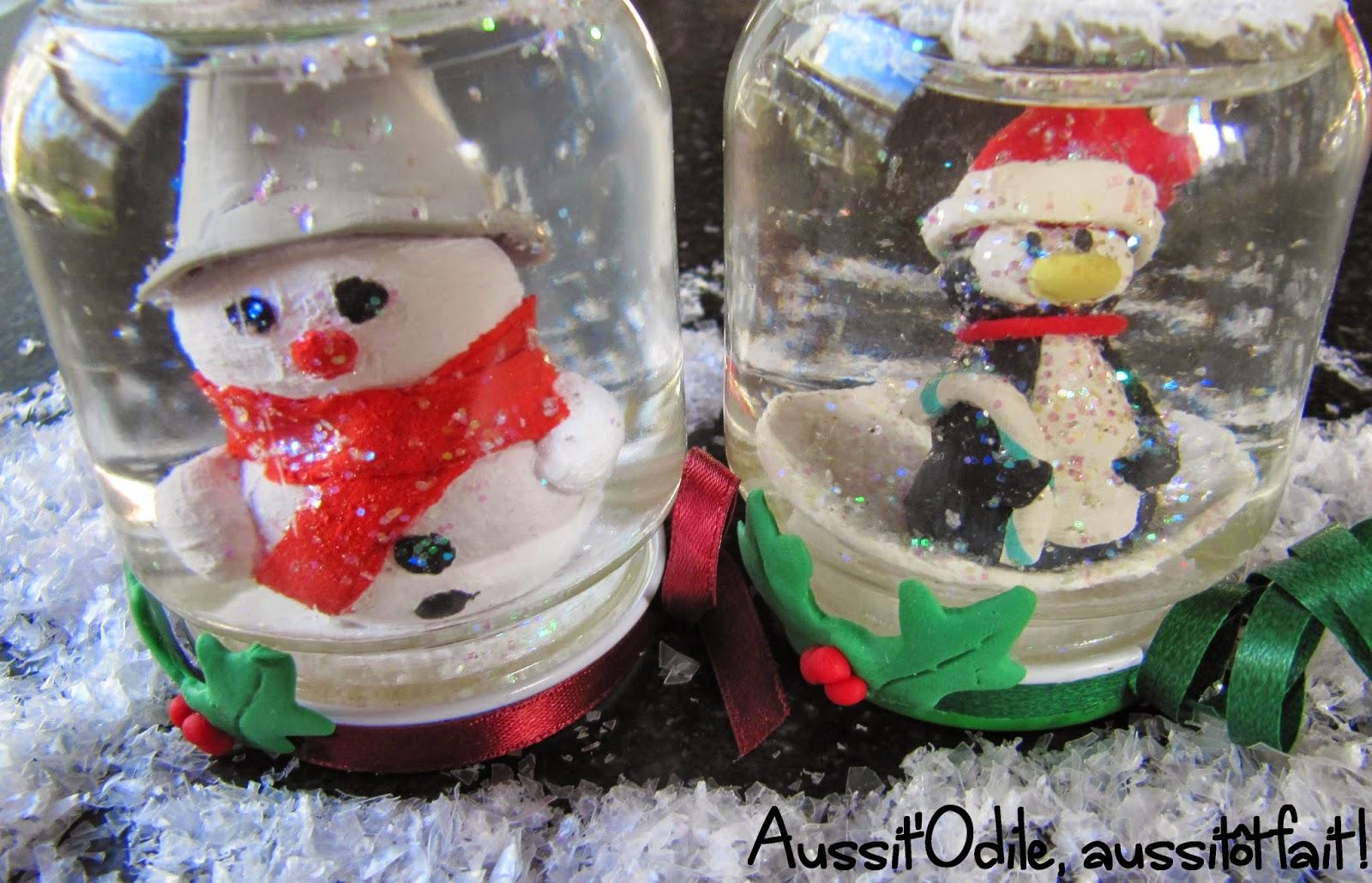 #A82326 Aussit'Odile Aussitôt Fait !: Décembre 2014 5301 décorations de noël a fabriquer soi même bonhomme de neige 1600x1030 px @ aertt.com