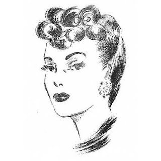 How to Create 1940s Hairstyles - Instructions and Illustrations for 17 Swing Era Styles