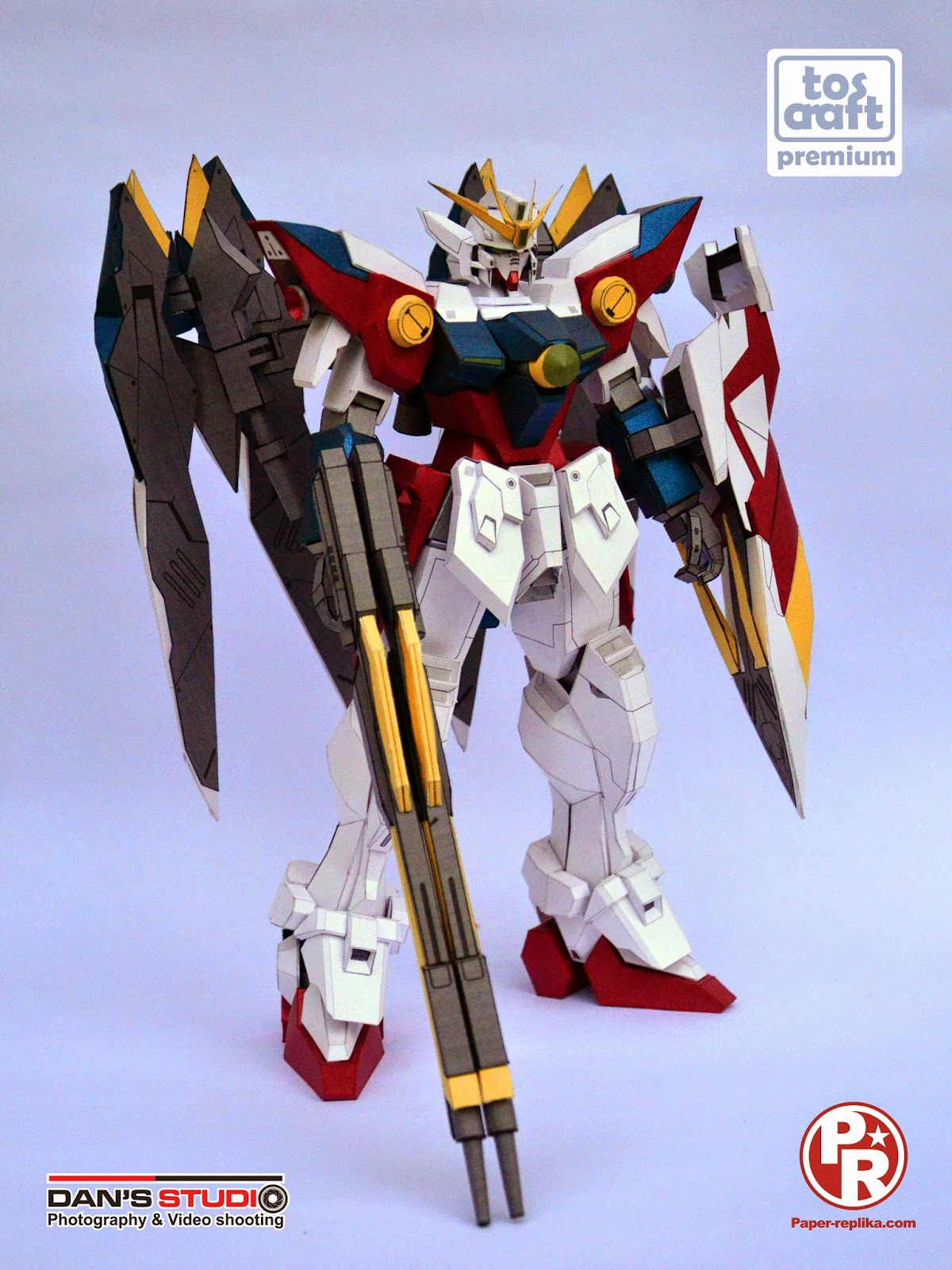 Tos-craft: WING ZERO Gundam 1:60 papercraft