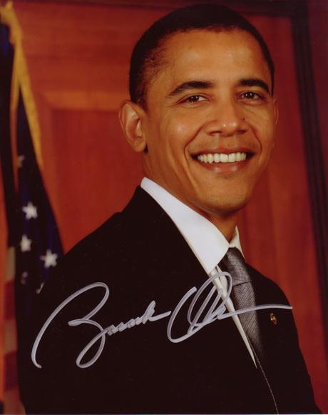 coi bói chữ ký tổng thống Obama