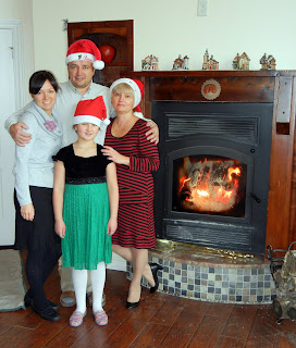 My family and I on Christmas day