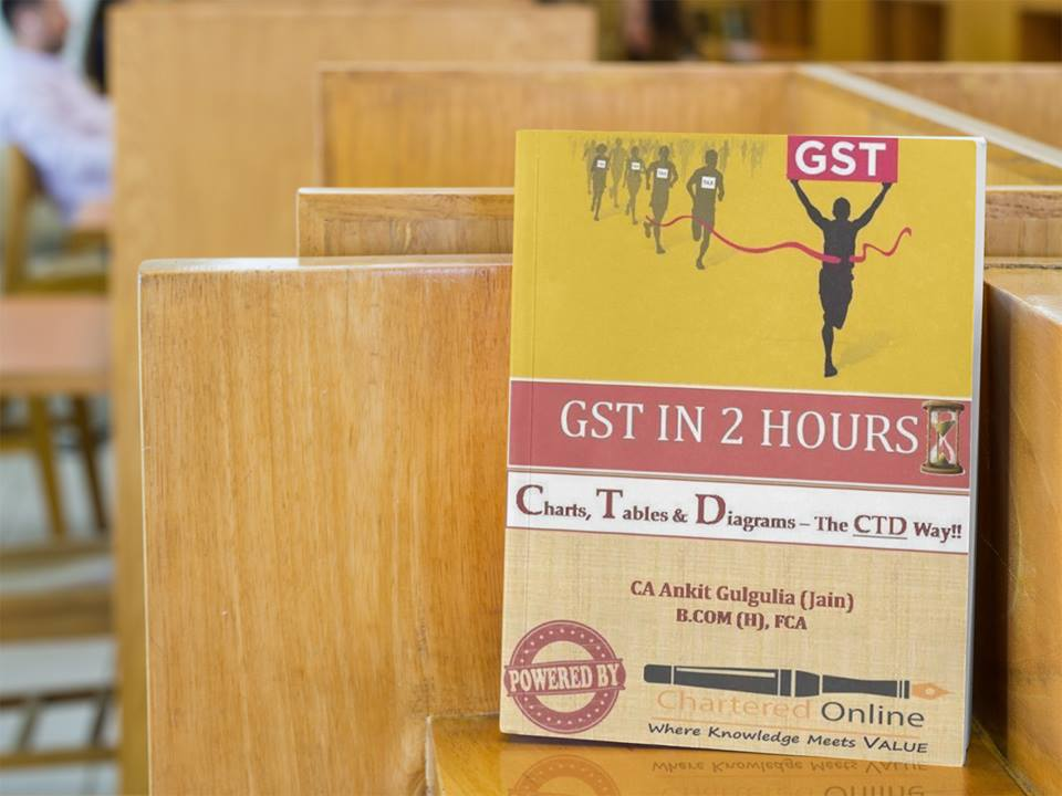 BUY GST E- BOOK @ Rs 149/- (Industry Wise) - Charts, Tables & Diagrams