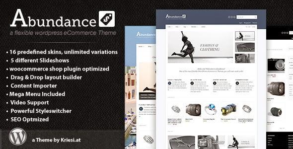 Abundance eCommerce Business Theme