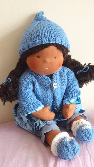 Knitting Patterns For Waldorf Dolls : Nestled Under Rainbows: Free Waldorf Doll Clothes Knitting ...