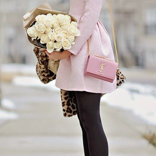 Roses, Pink, and Leopard Print