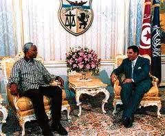visite de Mandela en Tunisie