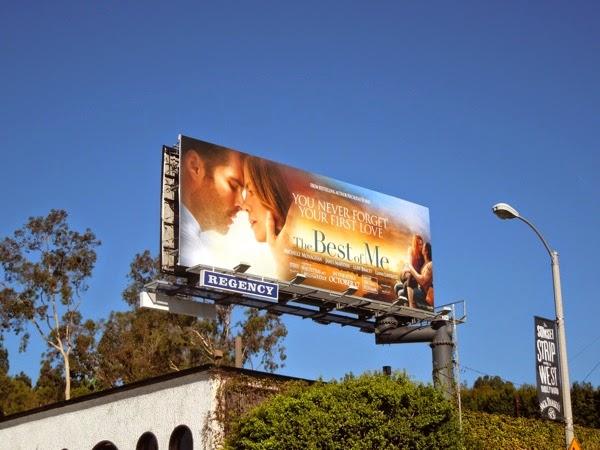 The Best of Me movie billboard