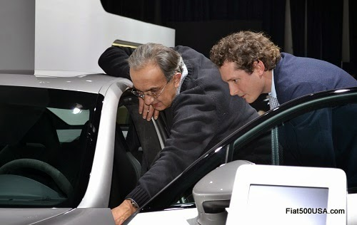 Sergio Marchionne and John Elkann