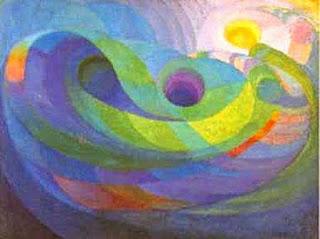 April inspiration by Roy de Maistre called Frozen Music