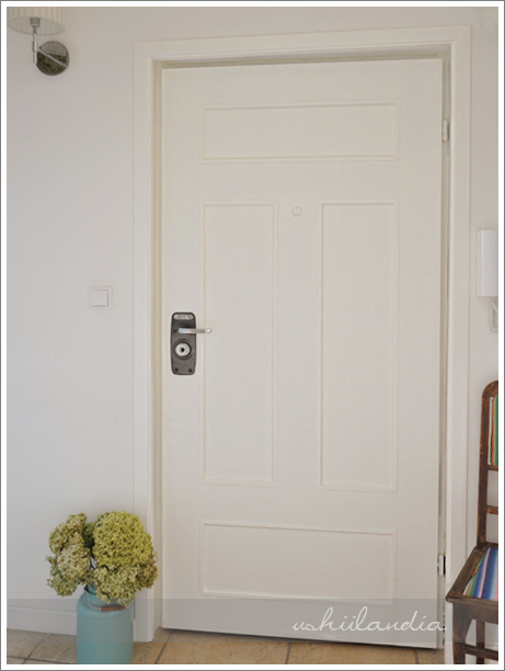 odnowione drzwi - niby kamieniczne / door makeover