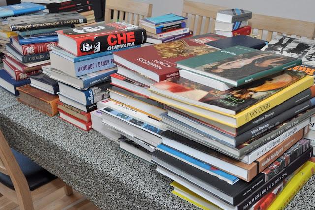 oprydning i bogreolen