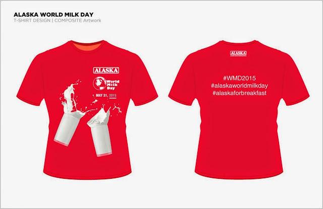 Alaska World Milk Day Family Run Zumba Shirt