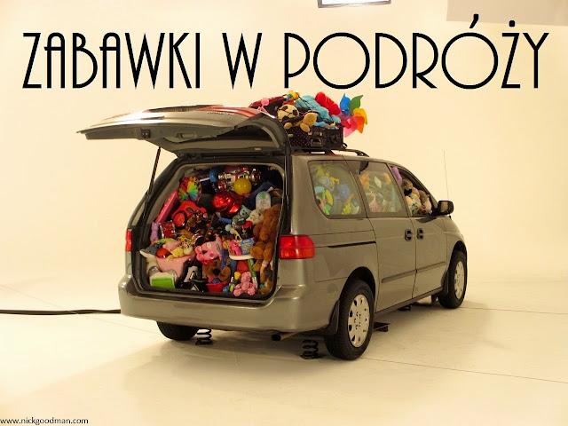 Zabawki w podróży - nasz niezbędnik