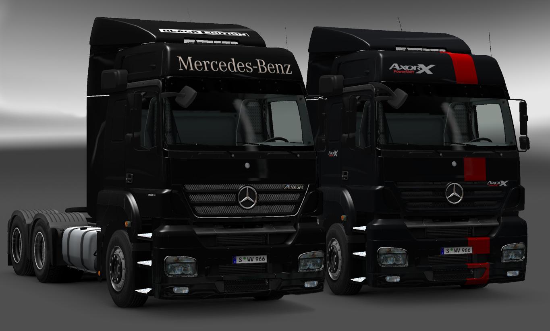 mod mercedes benz axor v2 0 euro truck simulator 2. Black Bedroom Furniture Sets. Home Design Ideas