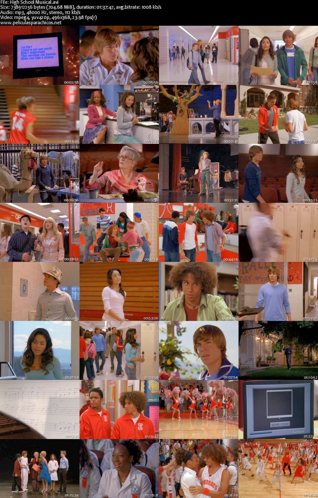 HIGH SCHOOL MUSICAL | Peliculas Infantiles