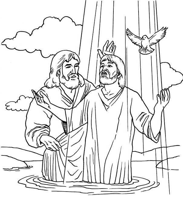 Dibujos para colorear de un bautismo - Imagui