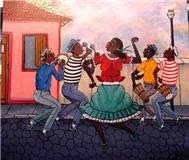 Arte Naif Brasileira - Venda obras de Heitor Dos Prazeres