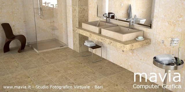 Arredamento di interni rendering 3d interni arredo for Arredo bagno 3d