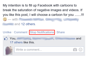 stop notifications of tagged photos on facebook