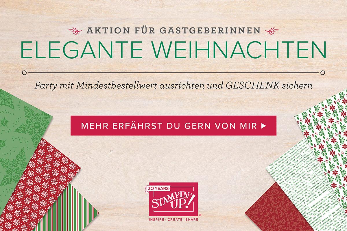 """Aktion für Gastgeberinnen """"Elegante Weihnachten"""""""