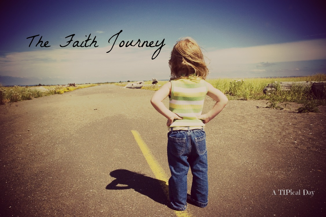 "A small girl with hands on her hips looking down a road - The Faith Journey #26  Proverbs 31:19 ""Leading"" #leadingbyexmple #devotional #faith #proverbs31"
