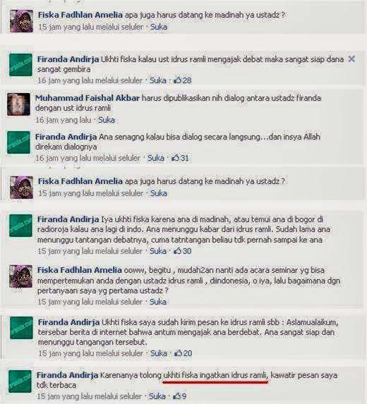 Ustadz Abu Abdil Muhsin Firanda Andirja MA