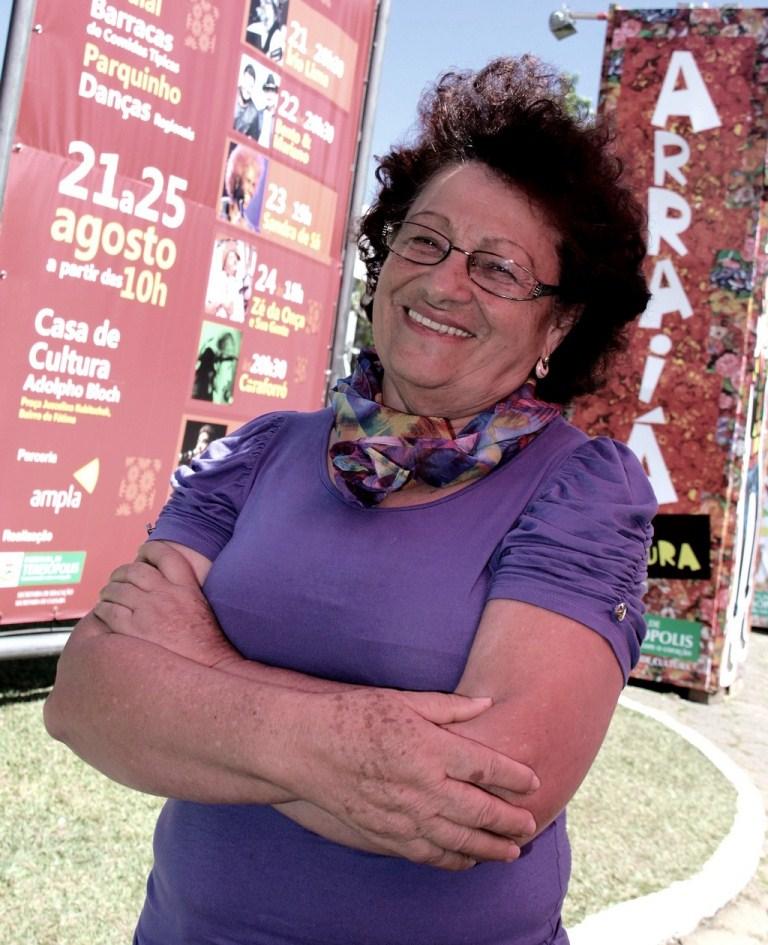 A artesã Maria de Oliveira Medeiros vendeu todo o estoque