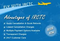 Air travel through IRCTC