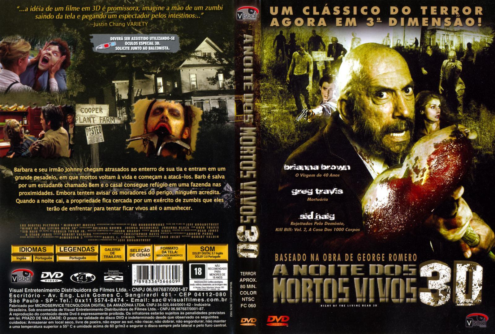 Filme Mortos Vivos intended for a noite dos mortos vivos 3d (2006) oficial | gigante das capas