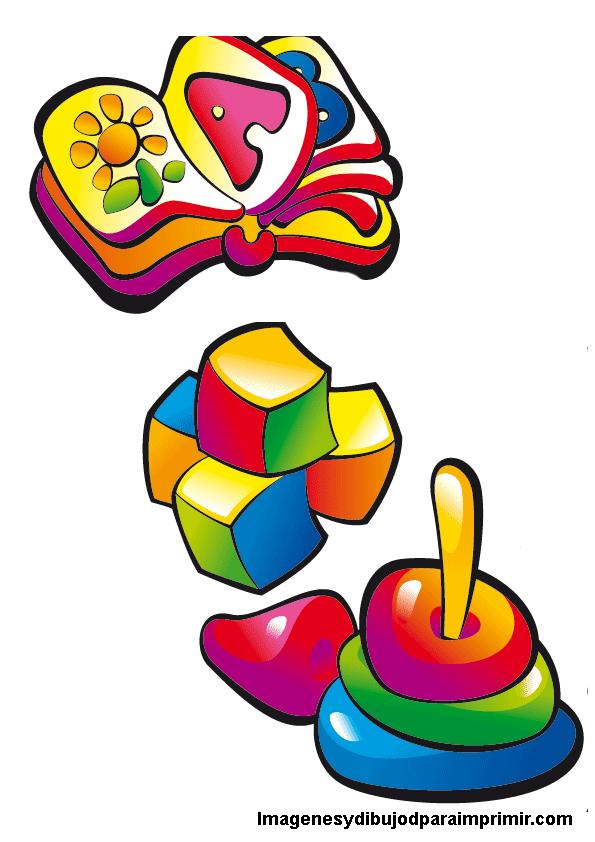 Juguetes infantiles para imprimir