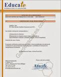 Certificado de manipulador de alimentos