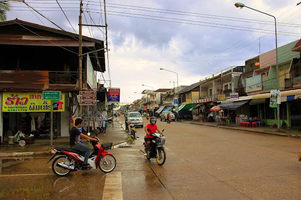 Calle principal de Savannakhet