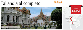 Tailandia al completo 10 días
