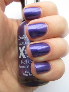 Sally Hansen Deep Purple