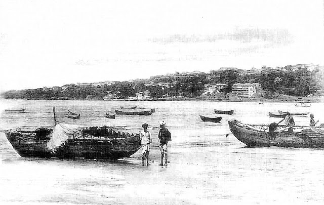 View from Malabar Hill, Mumabi 100 Years Ago