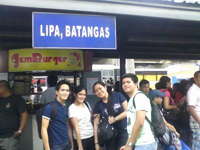 Van Terminal to Lemery, Batangas - EDSA Crossing