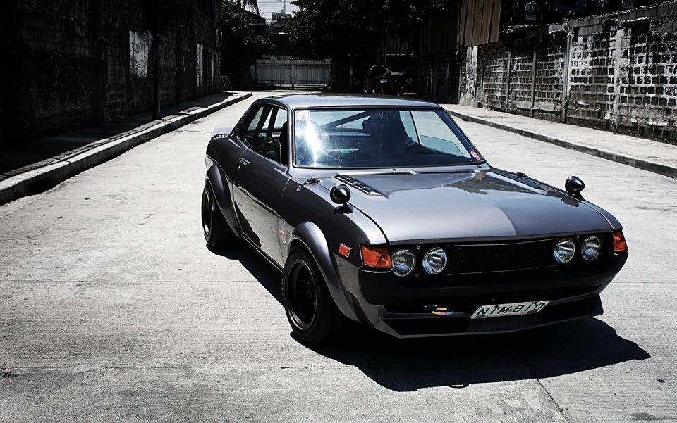 300. Zdjęcia #095: Toyota Celica I (A20/30). staryjaponiec blog